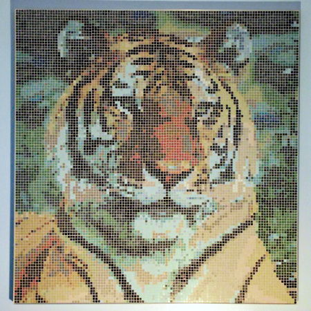 Siberian Tiger - Photo of Mosaic