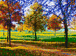 Autumn in the Park - Mosaic Art