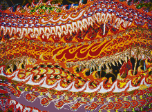 Singapore Dragons - Mosaic Art