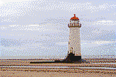 Talacre Lighthouse (North Wales) - Mosaic Art