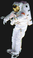Spaceman (Peter J K Wisoff) - Mosaic Art