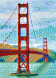 Golden Gate Bridge (May 2010) - Mosaic Art
