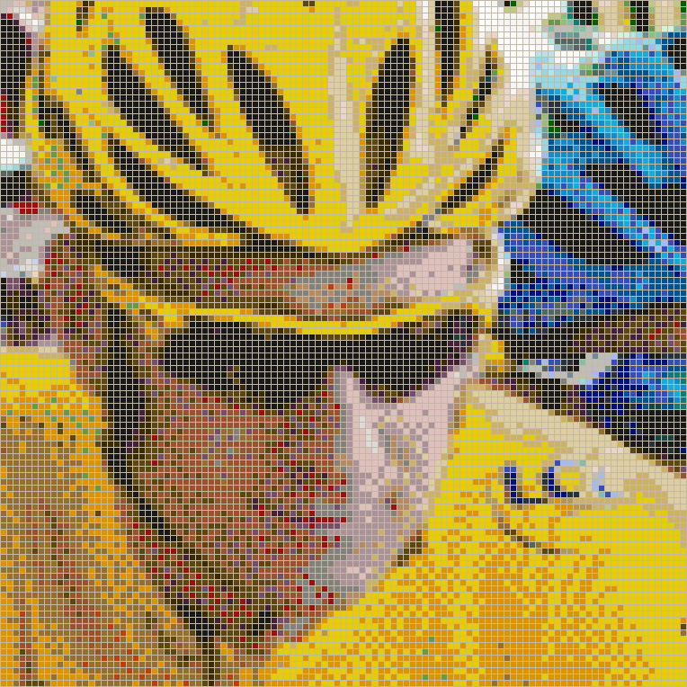 Bradley Wiggins winner of the Tour De France 2012 - Mosaic Tile Art