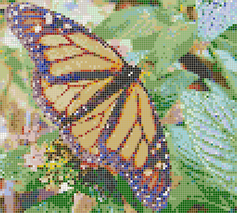 Monarch butterfly mosaic tile art for Mosaic tiles for craft