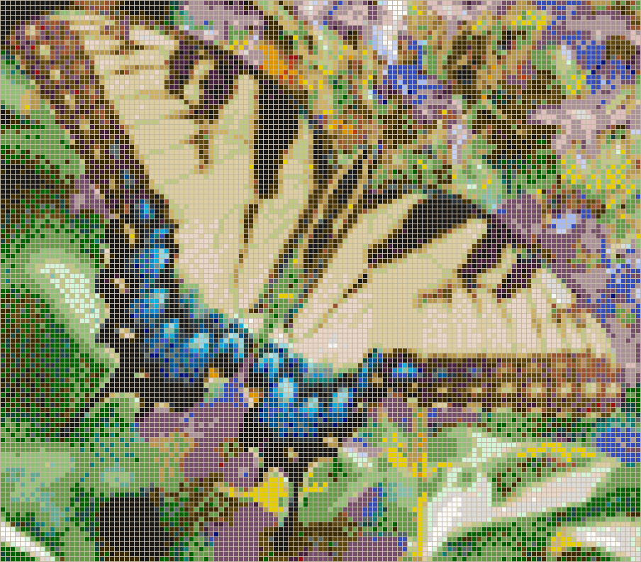 Swallowtail butterfly mosaic tile art for Mosaic tiles for craft