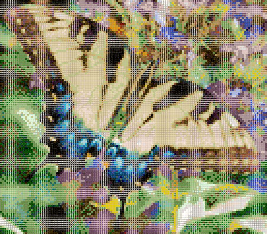 Art Décor: Swallowtail Butterfly