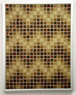 Sepia ZigZags - Mosaic Accent