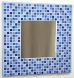 Winter Diamonds 29cm - Mosaic Mirror