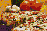 Pizza - Mosaic Art