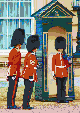 Buckingham Palace Guards - Mosaic Art