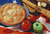 American as Apple Pie - Mosaic Art