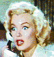 Marilyn Monroe (Gentlemen Prefer Blondes Trailer) - Mosaic Art