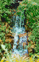 Small Waterfall - Mosaic Art
