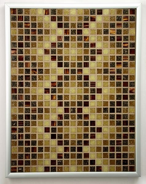Sepia DNA Mosaic Accent
