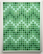 Jaded ZigZags Mosaic Accent