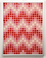 Candy ZigZags Mosaic Accent
