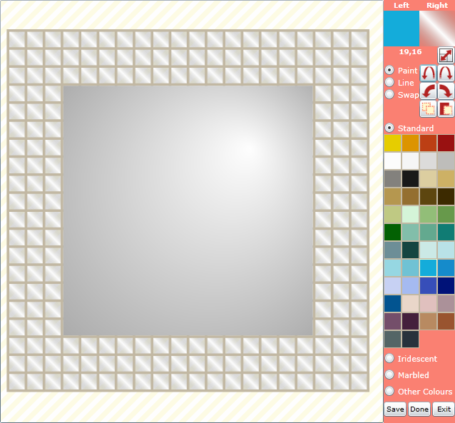 Paintmosaic Our New Online Mosaic Tile Design Software